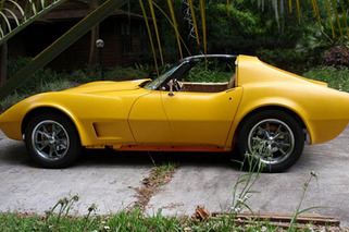 Man Builds Electric C3 Corvette