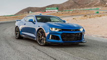 2017 Chevy Camaro ZL1 is just shy of 322 km/h top speed
