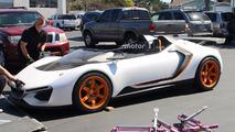 Mystery Honda spy pics might preview sub-NSX roadster