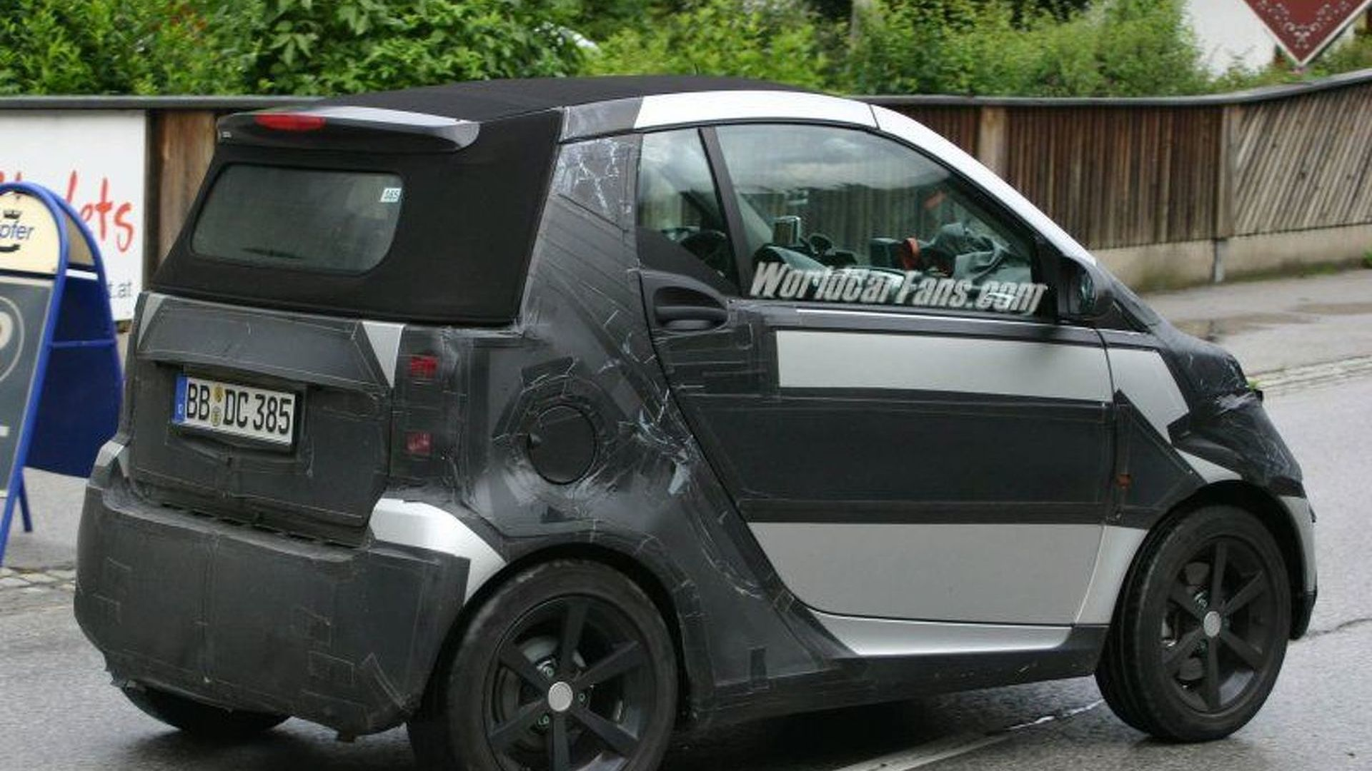 SPY PHOTOS: More Next Gen smart ForTwo