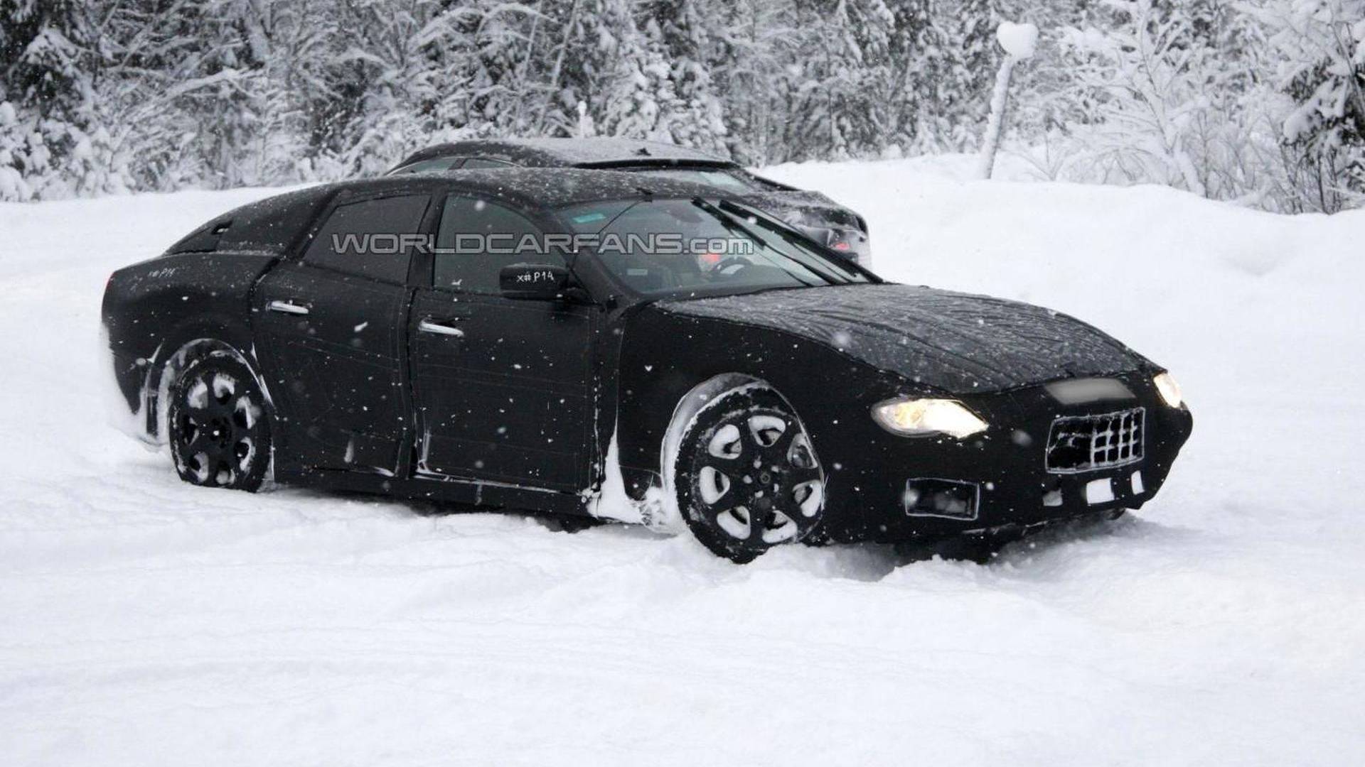 2013 Maserati Ghibli details emerge, to debut in April