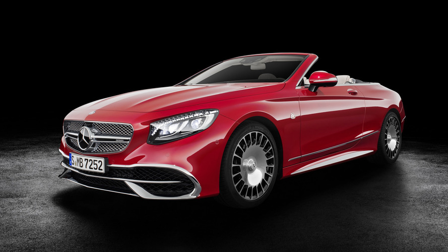 Los Angeles 2016 - Mercedes-Maybach S 650 Cabriolet ou l'ultra-luxe