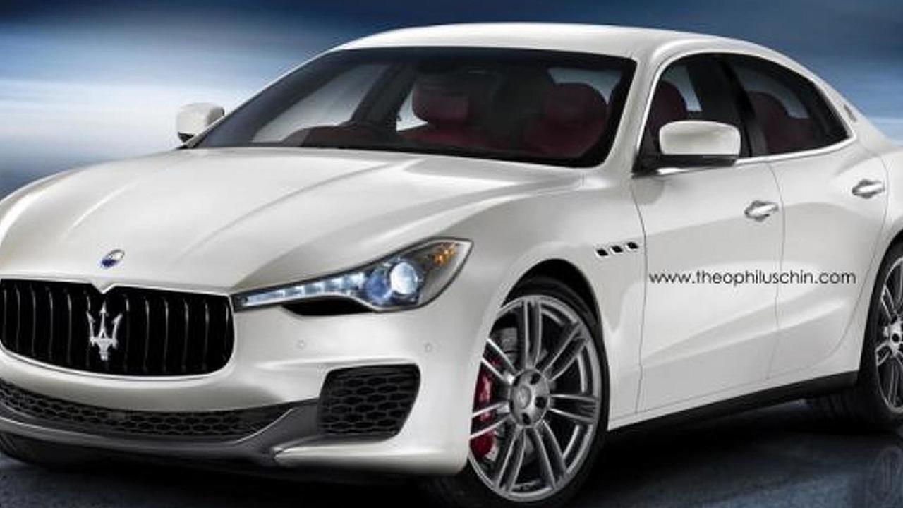 Maserati BiTurbo rendering / Theophilus Chin