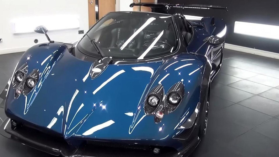Zonda still alive as Pagani prepares one-off 760 Roadster with manual gearbox [video]