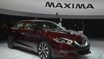 2016 Nissan Maxima unveiled with 300 bhp [video]