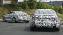 2017 Audi A5 Coupe spy photo