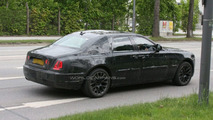 Rolls-Royce Ghost spy photos