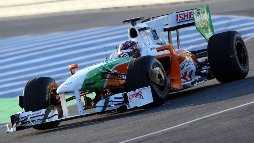 Force India and Virgin to test old cars at Valencia