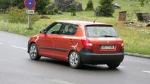 2010 Skoda Fabia Facelift First Spy Photos