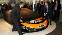 2012 Doerr Motorsport McLaren MP4-12C GT3.