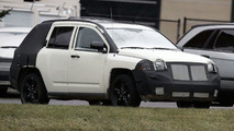 Jeep Compass Spy Photos