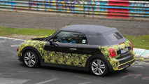 MINI Cooper S Cabrio spied once more testing in Germany