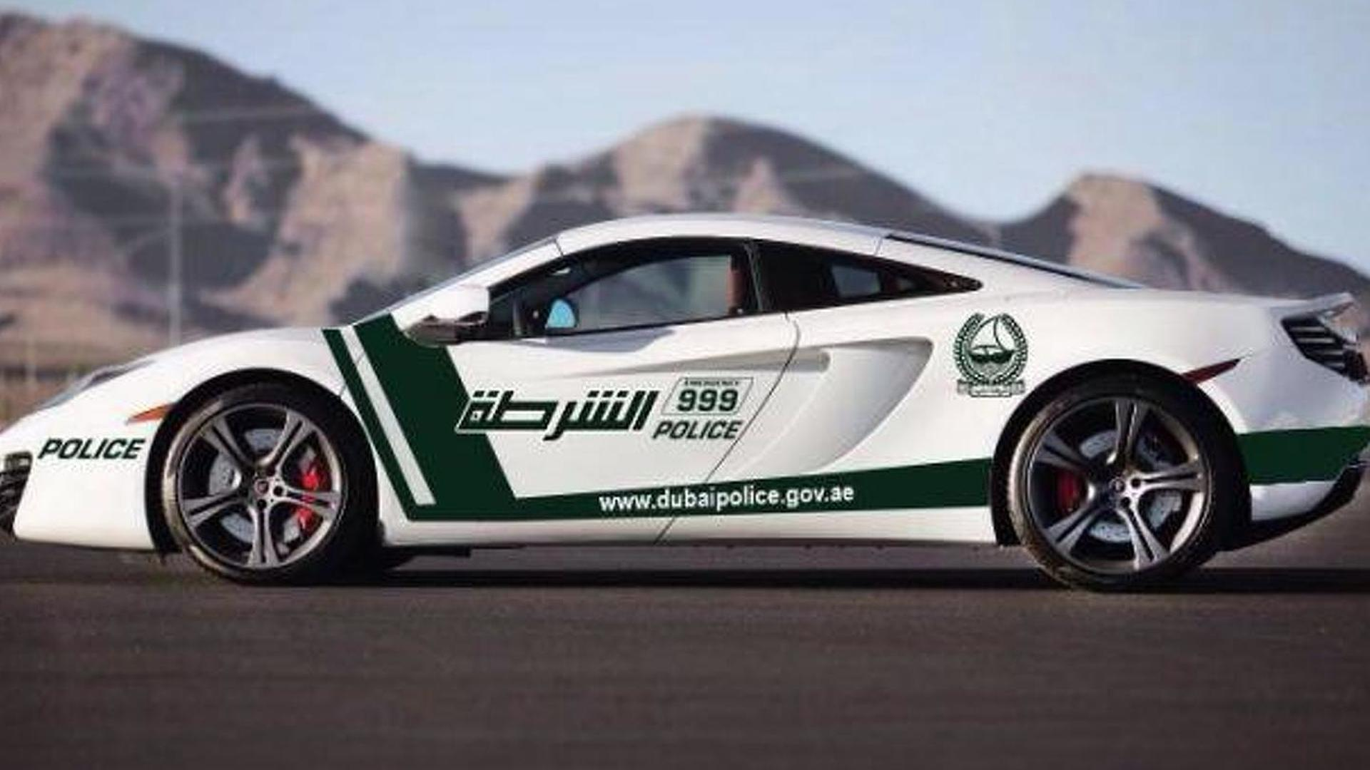 Dubai Police add a McLaren MP4-12C to their lineup