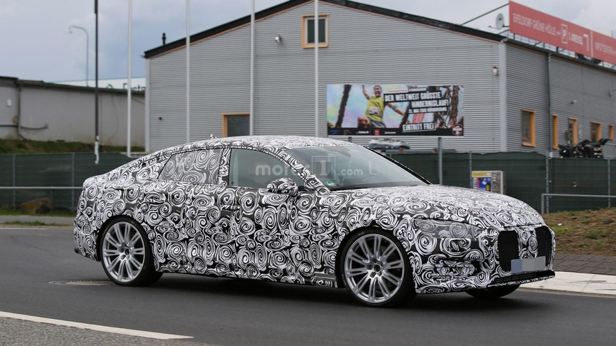 2017 Audi S5 Sportback spied near the Nürburgring