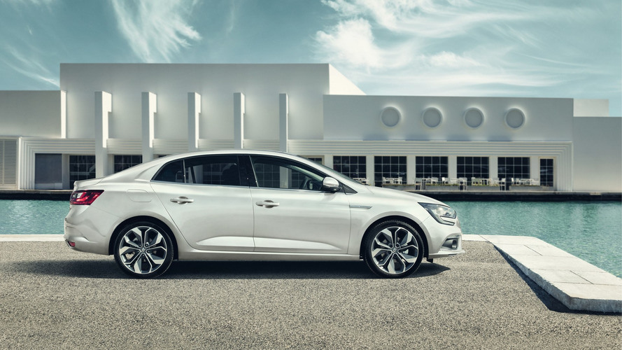 Renault Megane Sedan revealed, replacing Fluence