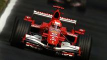 Michael Schumacher in Ferrari F1 Car