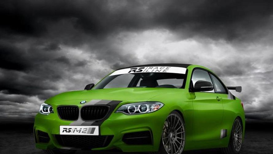 BMW M235i prepared by RS-RACINGTEAM
