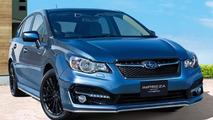 Subaru reveals Impreza Sport Hybrid for Japanese market