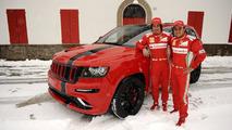 2012 Jeep Grand Cherokee SRT8 for Fernando Alonso and Felipe Massa 2.2.2012