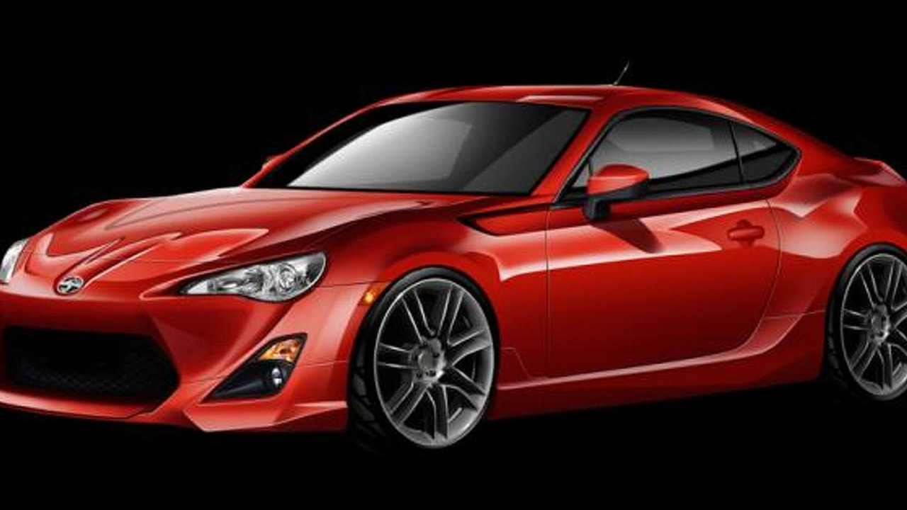 2013 Scion FR-S with Five Axis body kit 12.4.2012