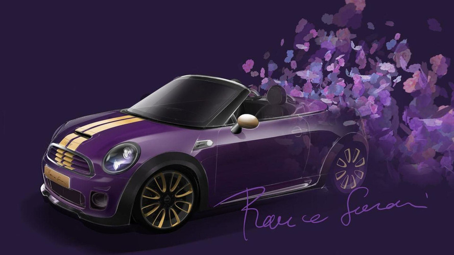 MINI Roadster teased for Life Ball benefit