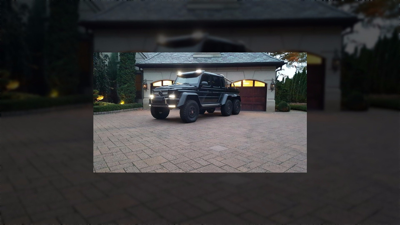 Brabus G63 6x6 for sale