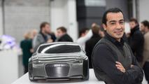Student Iman Baradaran Sedati with his GTron concept 26.11.2012