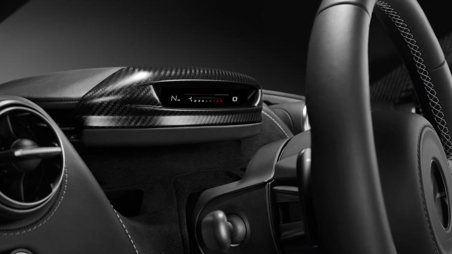 McLaren 720S is part Transformer with folding instrument cluster