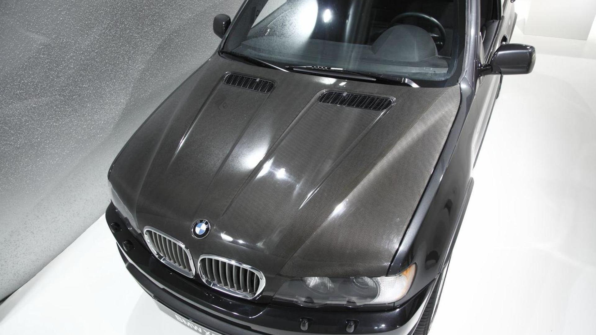 Secret BMW X5 protoype made of carbon fiber uncovered
