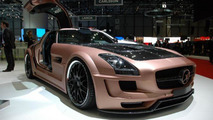 HAMANN HAWK based on Mercedes SLS AMG live in Geneva, 673 - 02.03.2011