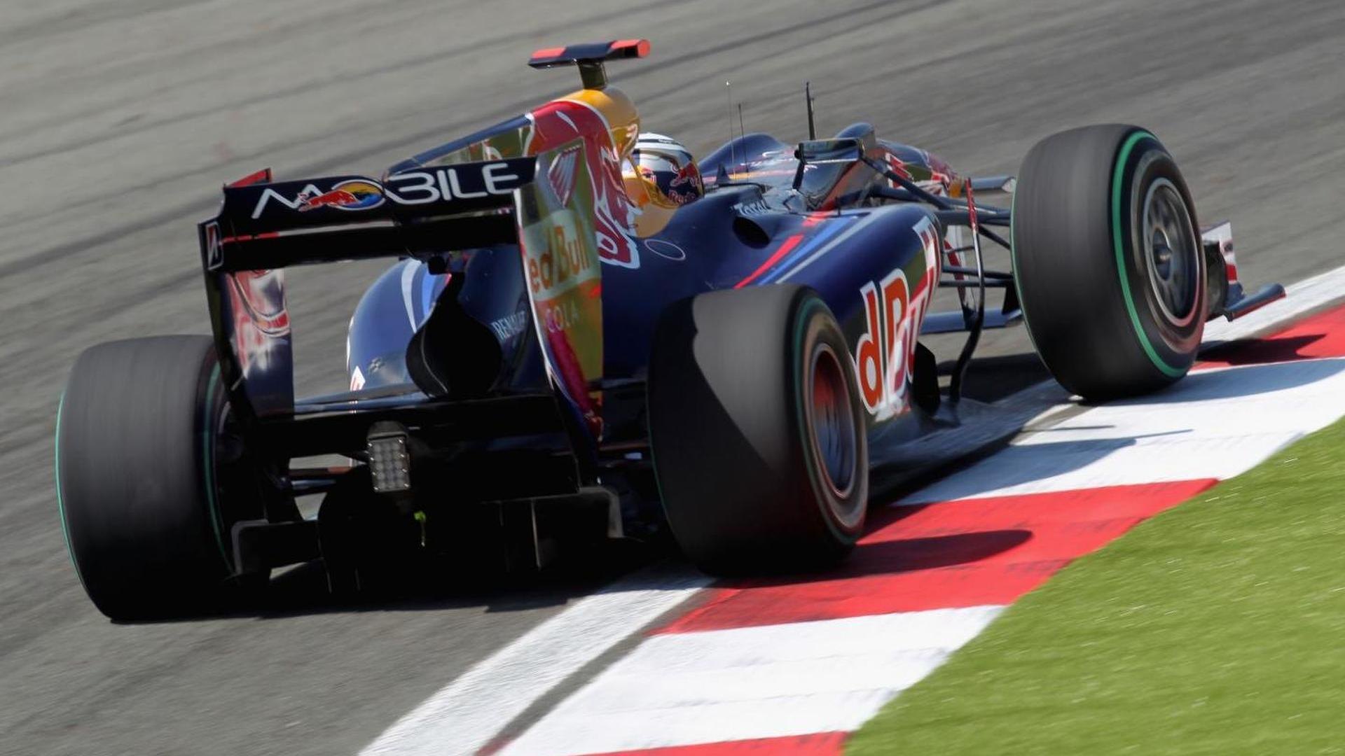 Red Bull told to modify car part in Turkey