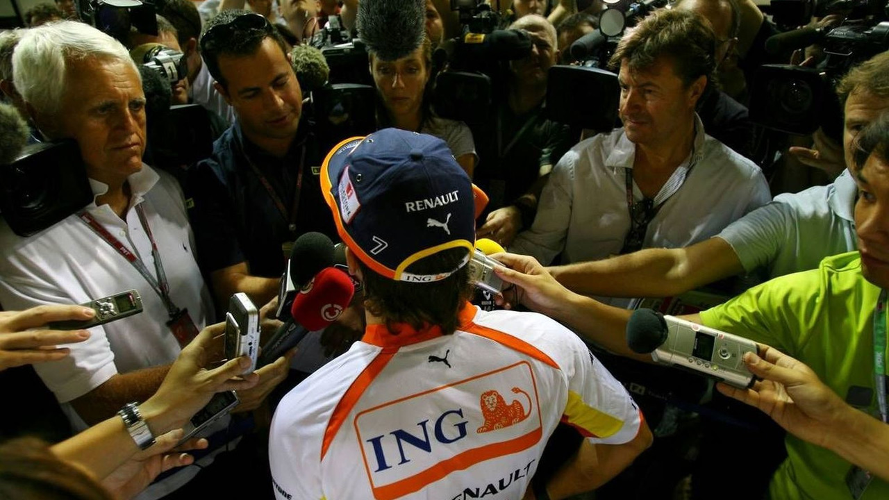 Fernando Alonso (ESP), Singapore Grand Prix, 24.09.2009