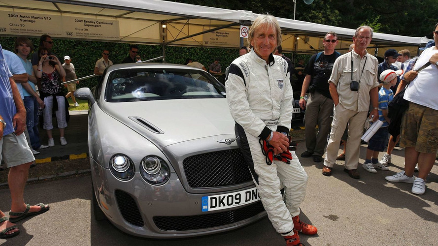 Bentley Continental Supersports makes driving debut at Goodwood [video]