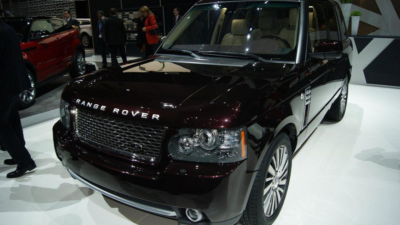 Range Rover Autobiography Ultimate Edition live in Geneva - 01.03.2011