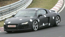 Audi R8 on Nurburgring