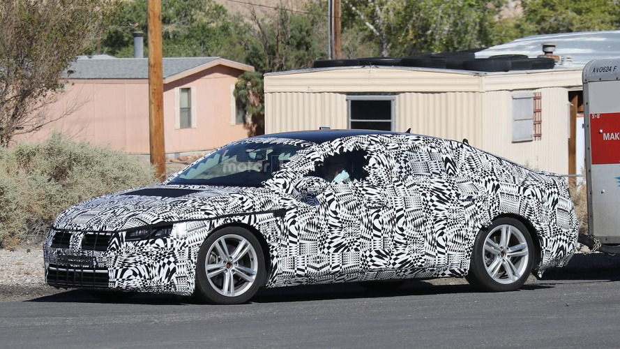 2018 Volkswagen CC makes spy photo debut