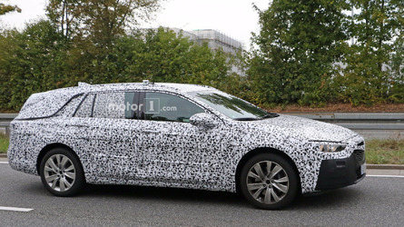 2017 Opel Insignia wagon spied exhibiting jump in size