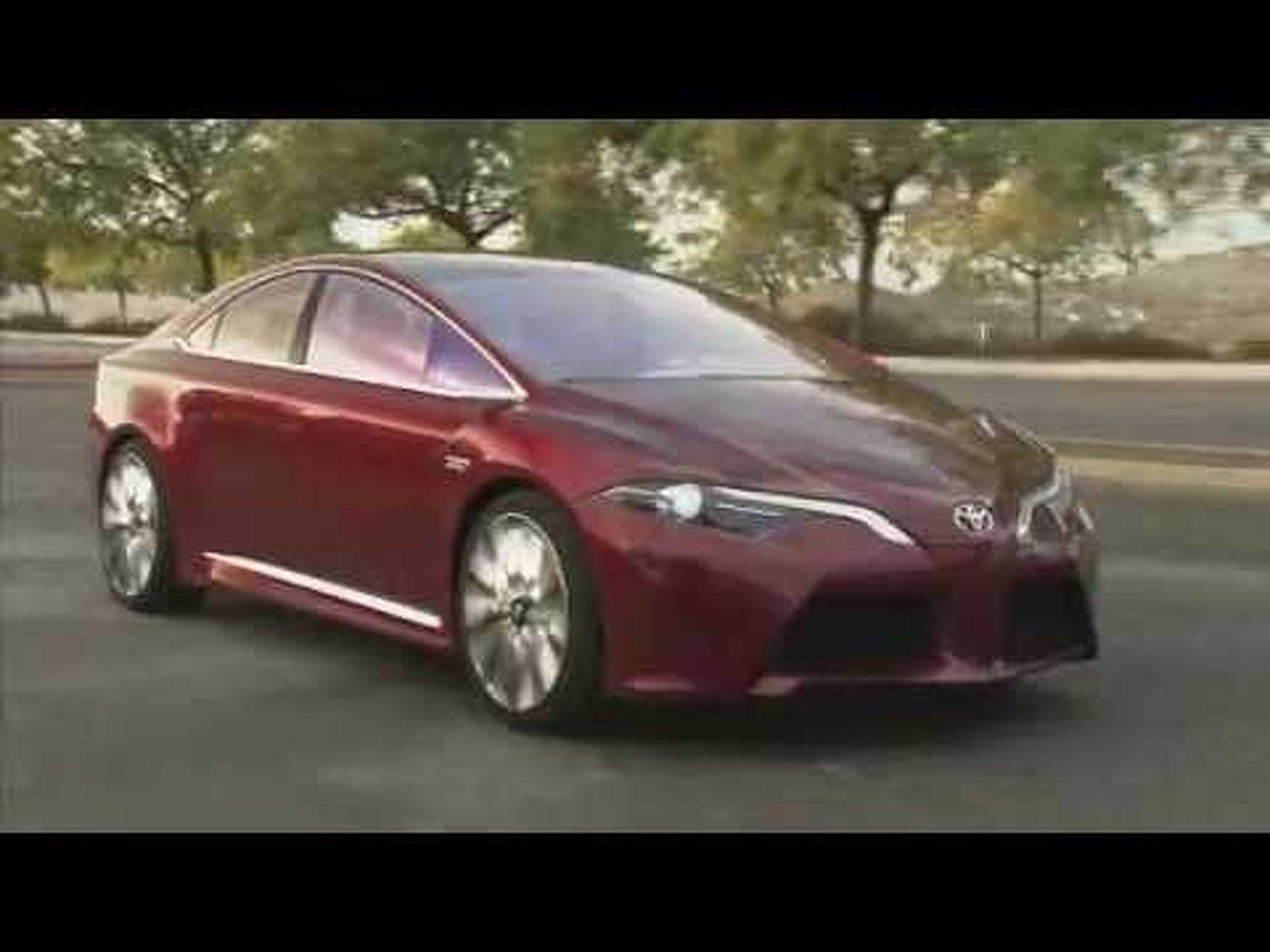 2012 Toyota NS4 Advanced Plug-in Hybrid Concept B-Roll