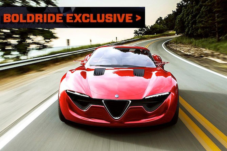 Brilliant Mind Behind: Alfa Romeo 6C Concept