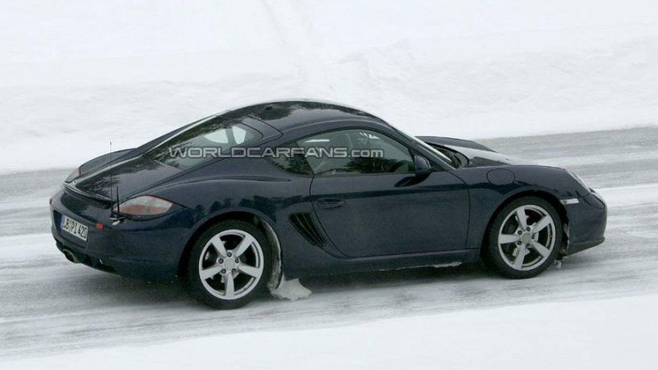 SPY PHOTOS: Porsche Cayman Facelift