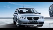 China, maio: VW Santana no pódio