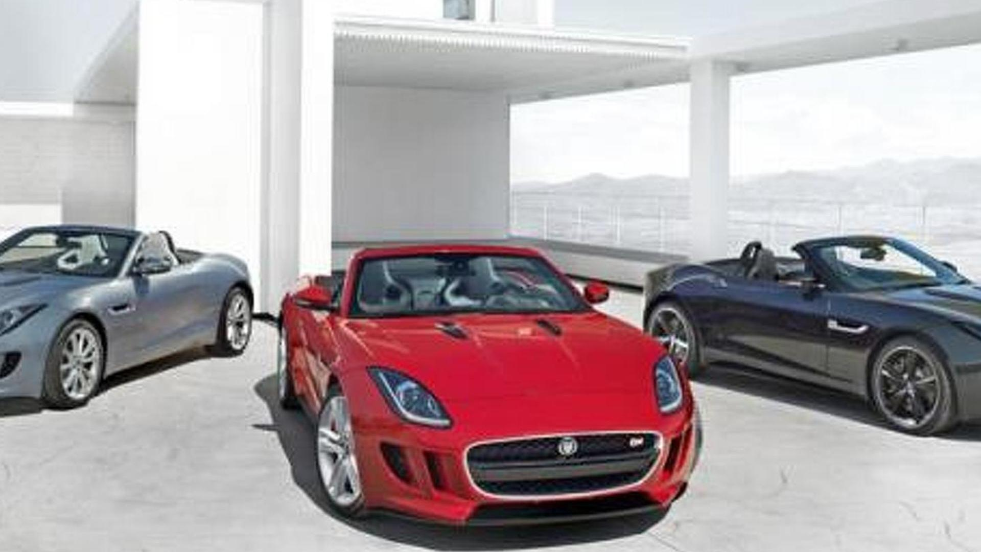 Jaguar F-Type leaked?