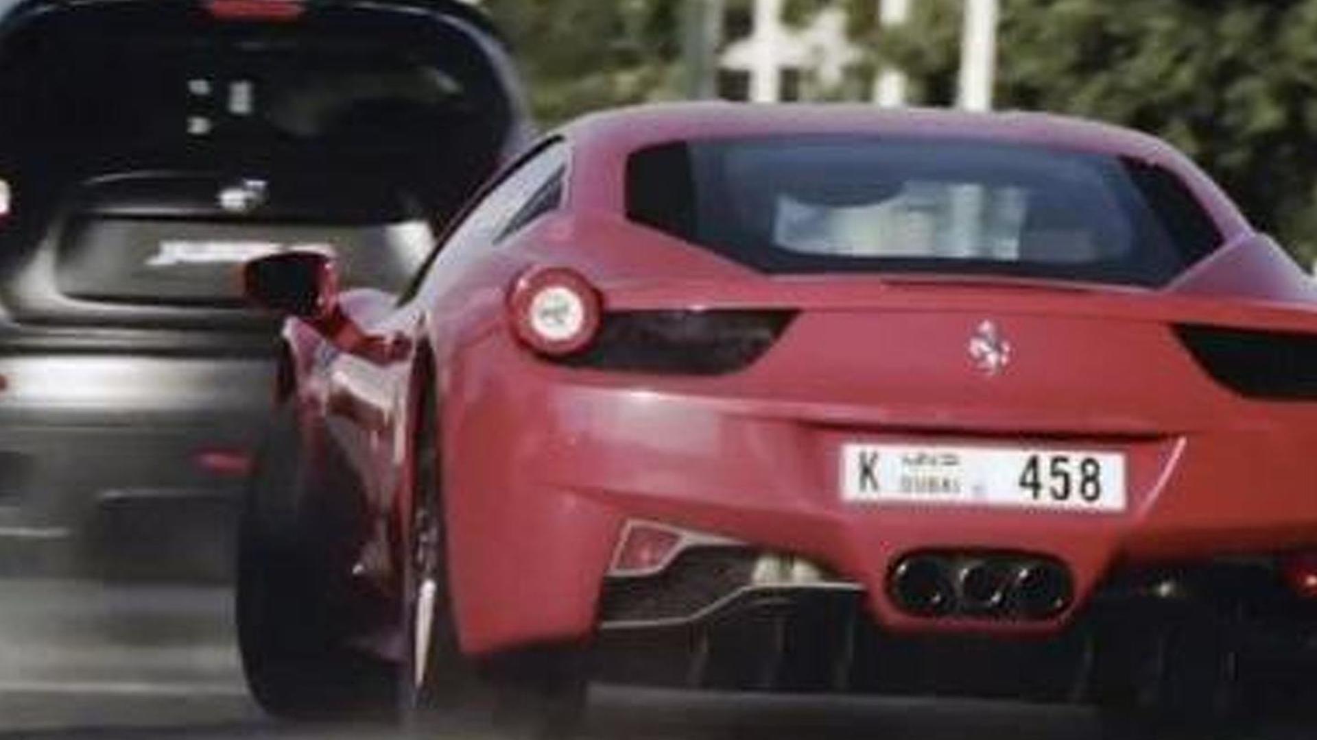 Nissan Juke R Dubai street race film announced [videos]