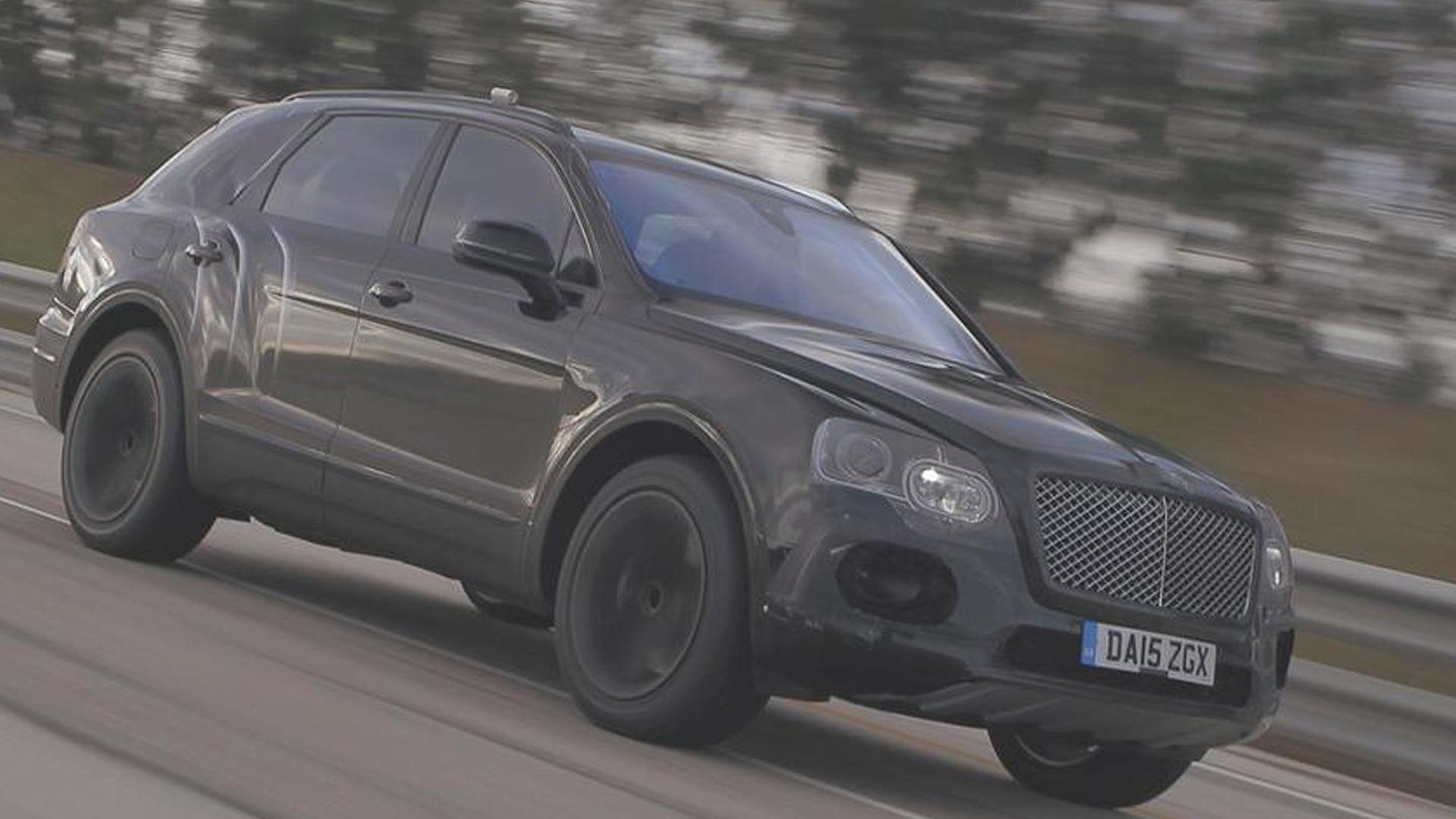 Bentley shows the W12-powered Bentayga hitting 301 km/h [video]