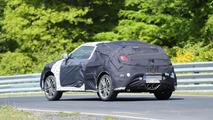 2015 Hyundai Veloster Turbo facelift spy photo