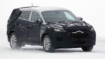 2016 Hyundai ix35 spied for the first time in Sweden
