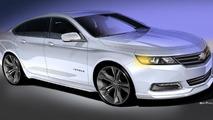 Chevrolet Urban Cool Impala concept 25.10.2013