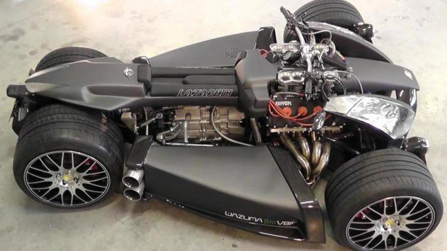 Ferrari-powered Wazuma V8F Matt Edition four-wheeler is oddly intriguing