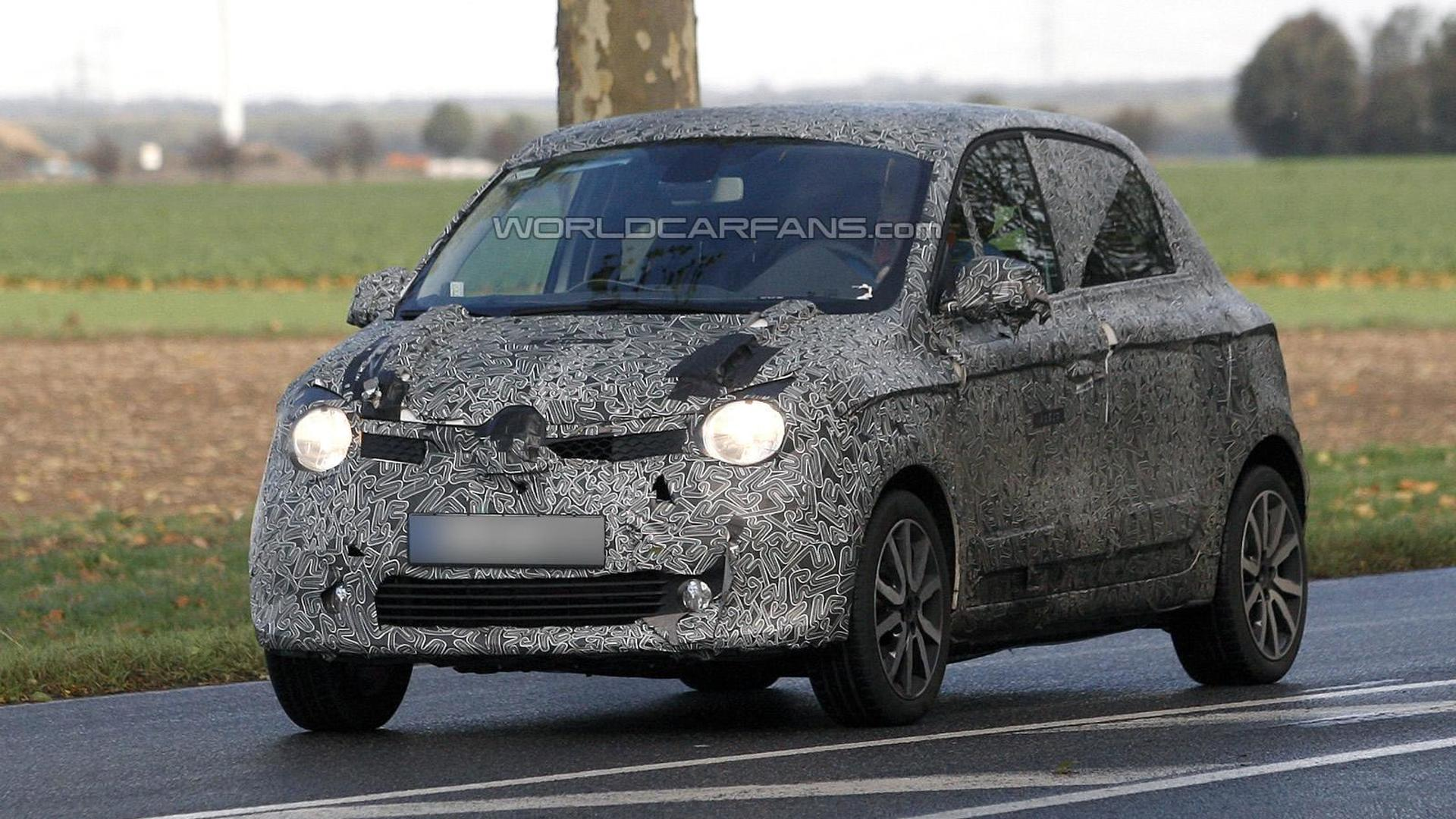 2015 Renault Twingo spied up close