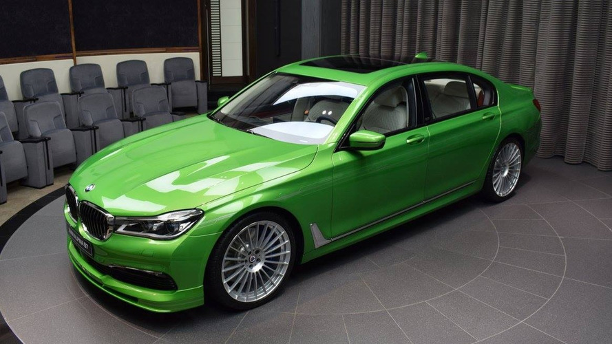 Is this bright green Alpina B7 great or gross?